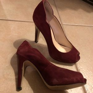 Nine West Peep Toe Pumps
